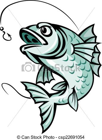 Carp clipart cartoon #9