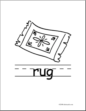 Carpet clipart black and white Rug Black Clip Art black