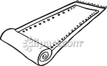 Carpet clipart black and white Rug Rug Download Clipart Black