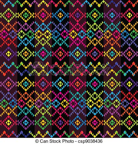Carpet clipart ethnic Of Art Search csp9038436 Clip