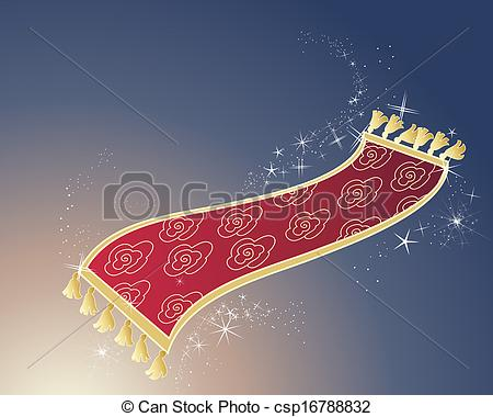 Carpet clipart magic carpet Illustration and an gold carpet