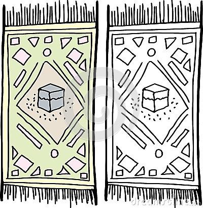 Carpet clipart prayer mat Clip Prayer Art Rug prayer