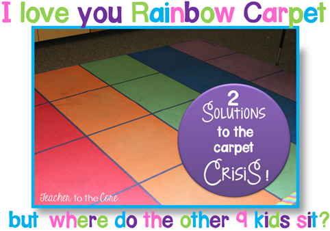 Carpet clipart rainbow Teacher & Carpet to Crisis