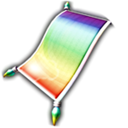 Carpet clipart rainbow Magic Carpet Rainbow Rainbow Magic