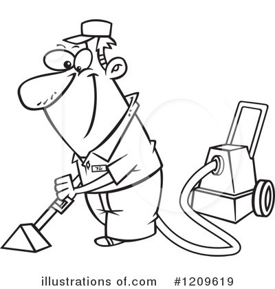 Carpet clipart vacuum Toonaday Carpet Cleaning by Carpet