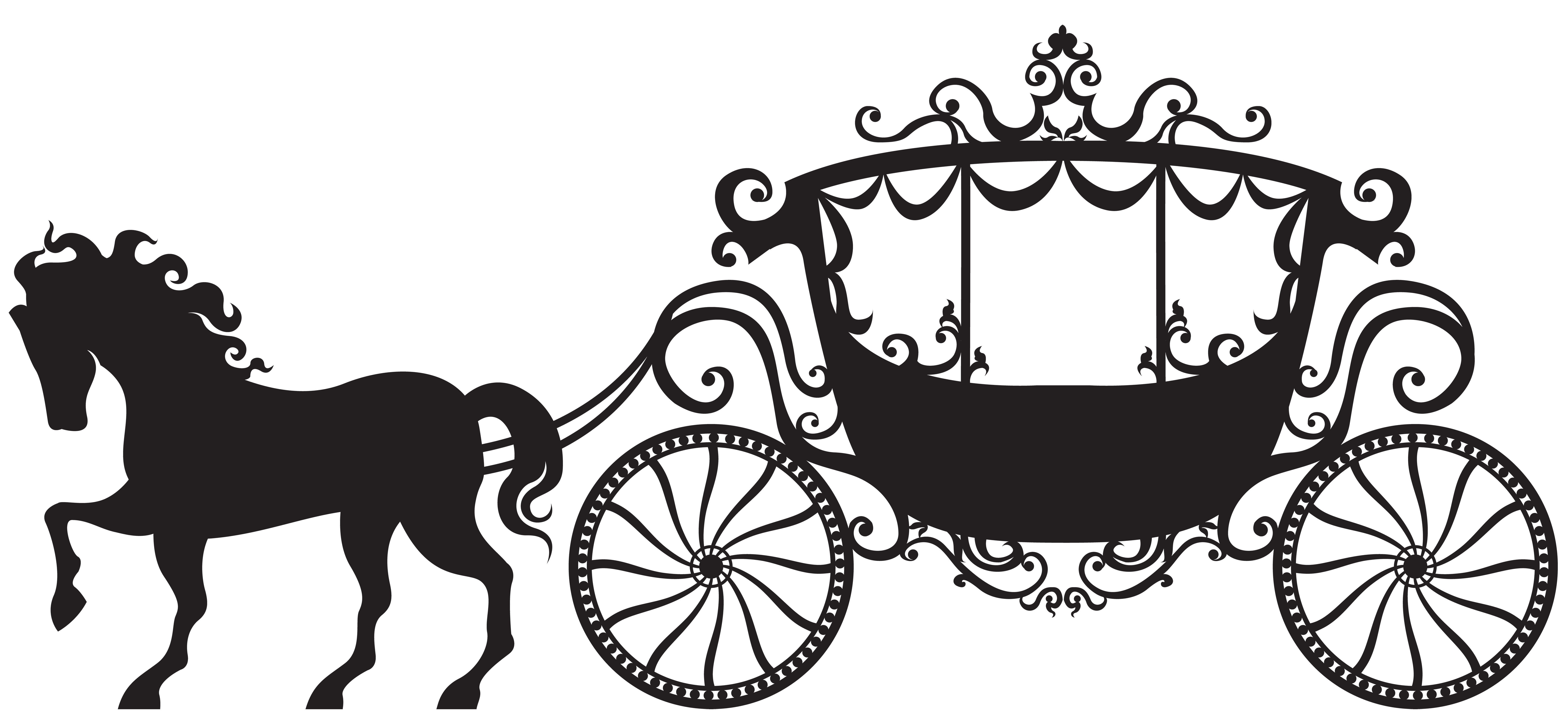 Carriage clipart Image Silhouette size Clip View