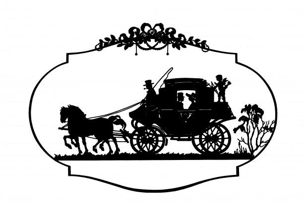 Carriage clipart Public Public Clipart Vintage &
