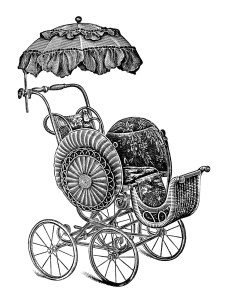 Carriage clipart antique shop Image baby page Strollers Free