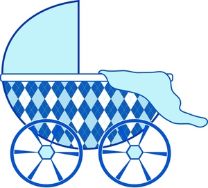 Carriage clipart baby shower Image baby with with Image: