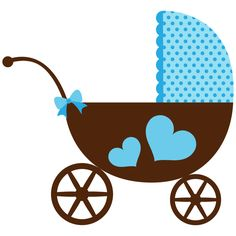 Carriage clipart baby shower Art clipart Hello! girl Clip