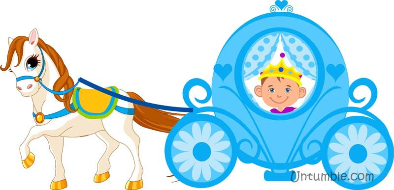 Carriage clipart prince Carriage Little prince in Untumble