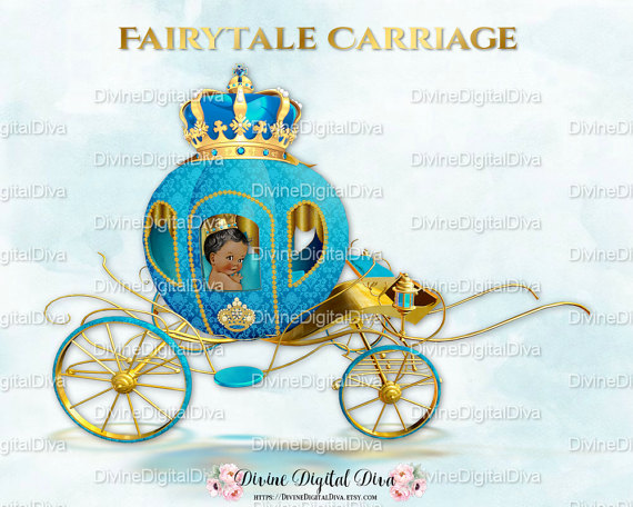 Carriage clipart prince Turquoise Prince & Ornate Prince
