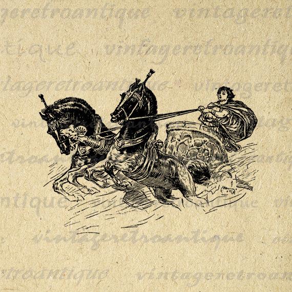 Carriage clipart roman Jpg Download Roman Printable Printable