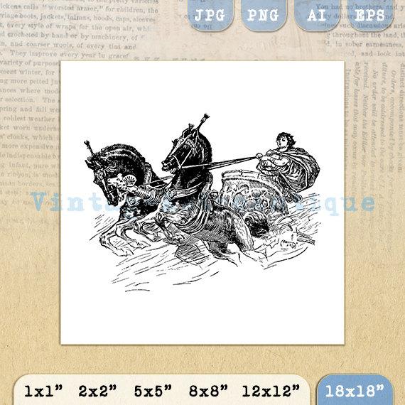 Carriage clipart roman Image VintageRetroAntique Roman Roman