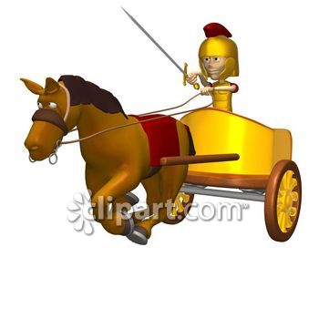 Carriage clipart roman Persistent vehicle  3 clipart