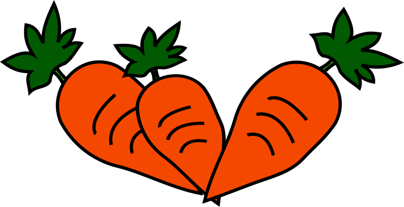 Carrot clipart hand holding Domain Use Amp com Clipart