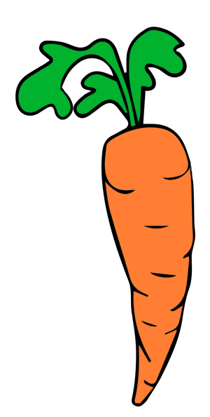 Carrot clipart white radish Art to Clip Public Use