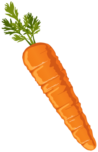 Carrot clipart animated Clipart White ClipartPen Carrot «