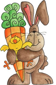 Carrot clipart art and craft Bunny esses bunny parar por