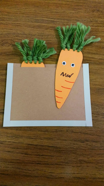 Carrot clipart art and craft Carrots cucumbers Craft Creepy tissue