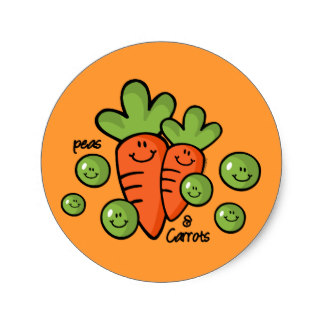 Carrot clipart art and craft Carrots Peas Peas clipart Craft
