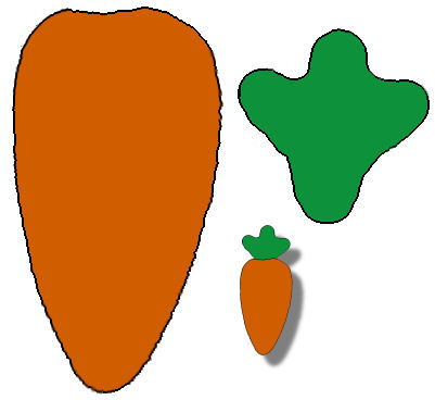 Carrot clipart art and craft Carrot carrot easter Craft crafts