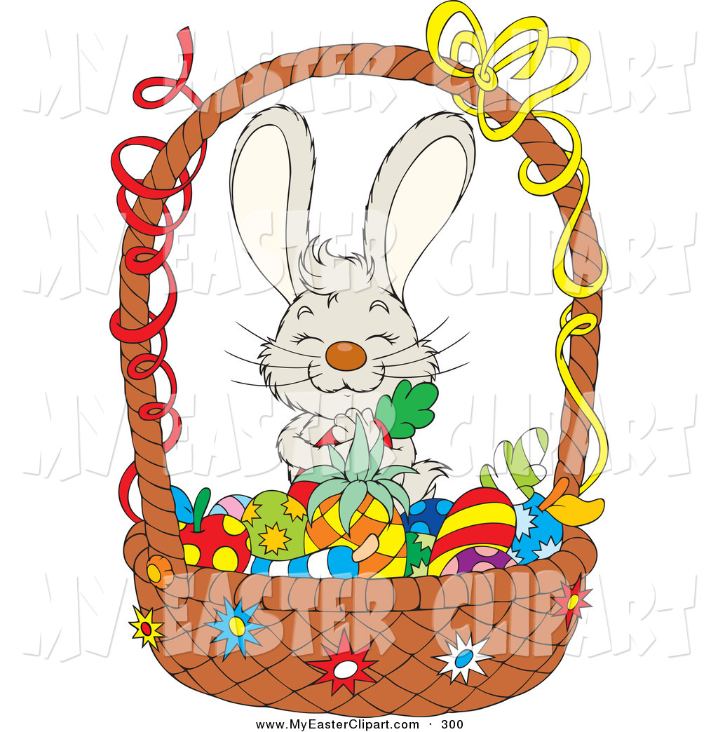 Carrot clipart basket Standing Adorable Happy and Gray