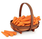 Carrot clipart basket Basket Stock a in Carrots