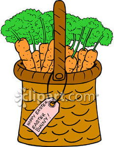 Carrot clipart basket The the Royalty Royalty Carrots