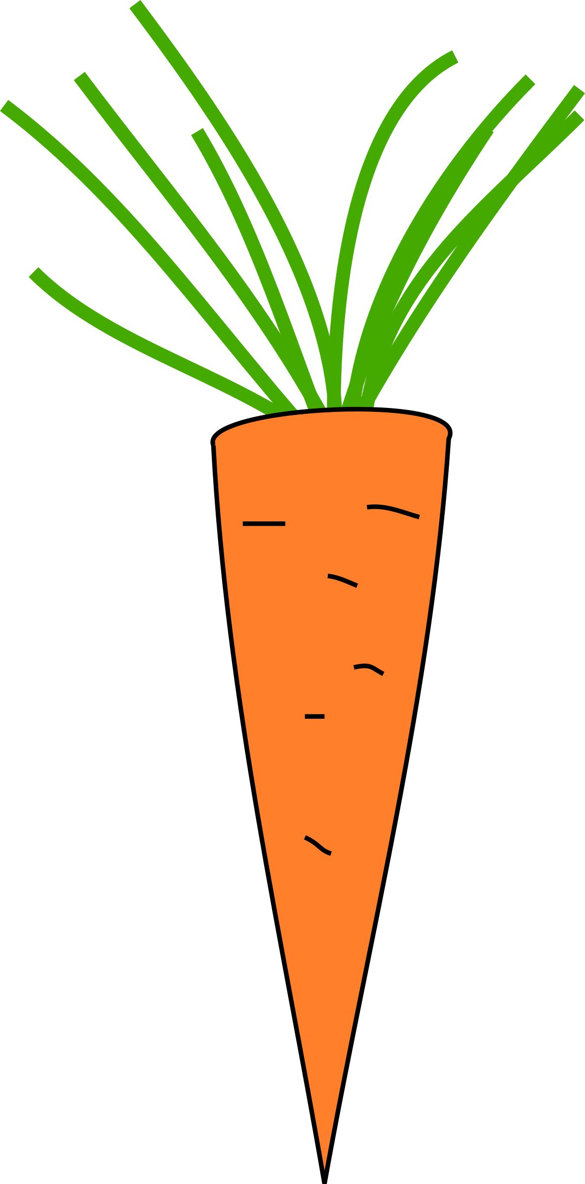 Carrot clipart big Clipart Carrot Carrot