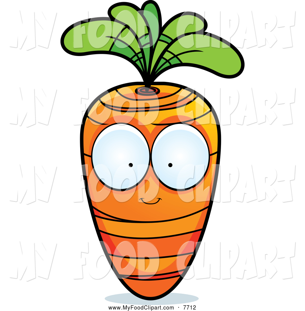 Carrot clipart big Character Character a Eyes Clip