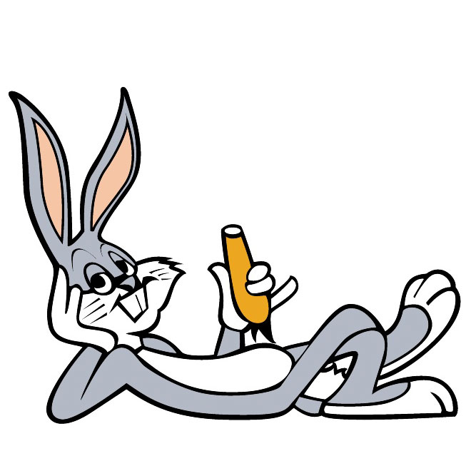 Carrot clipart bunny Graphics clipart eating Bugs Carrot