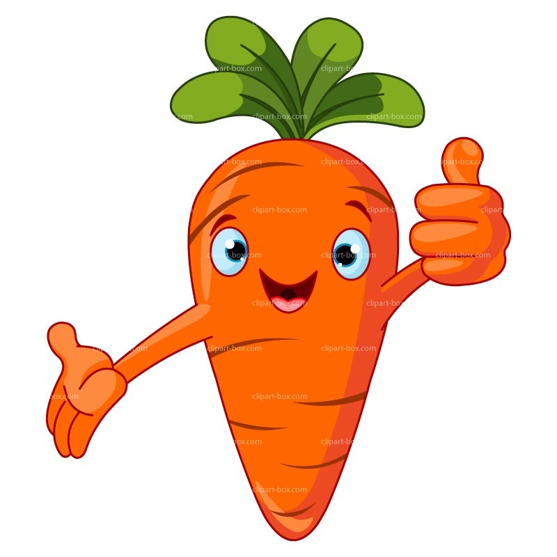 Carrot clipart cartoon Animated Animated carrot clipart Free