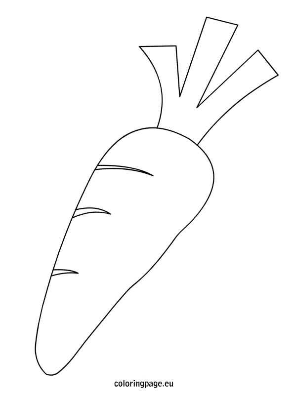 Carrot clipart coloring Easter Clip Art page clipart