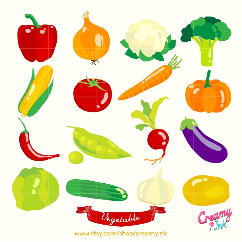 Carrot clipart corn Vegetables Clipart Vegetables Vector Vegetable