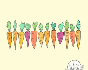 Carrot clipart food item Carrot • transparent 12 hand