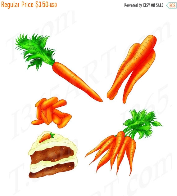 Carrot clipart food item OFF Etsy Baby art Carrot