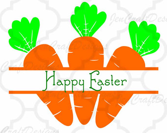 Carrot clipart frame Silhouette DXF Spring July of