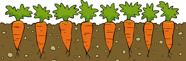 Carrot clipart individual Kids Help More of Dangling