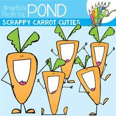 Carrot clipart individual Vegan Food Cuties Veggies