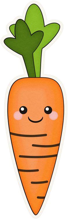 Carrot clipart long Art funny of vector