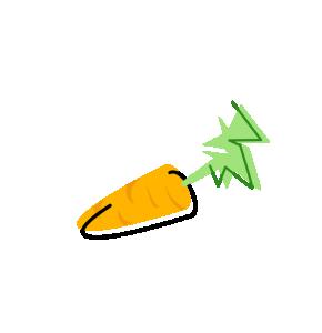 Carrot clipart long Clip Art Download Carrot Carrot