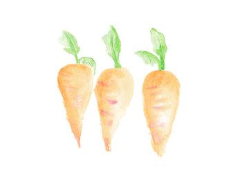 Carrot clipart vegitable Clipart Etsy Carrot Item clipart