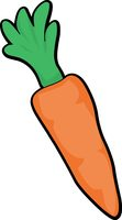 Carrot clipart vegtable Graphics Results From:  Art