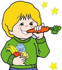 Carrot clipart winter food Carrot Finger Free eating boy