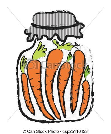 Carrot clipart winter food Stores Jar carrot carrot doodle