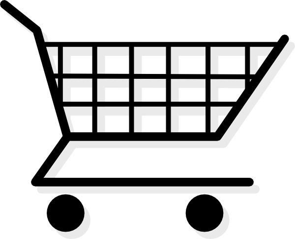 Cart clipart shopping bag In Shopping office vector Free