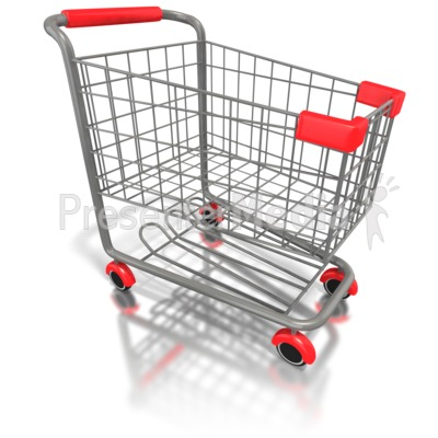 Trolley clipart empty Clipart Shopping Finance 1583 Clipart