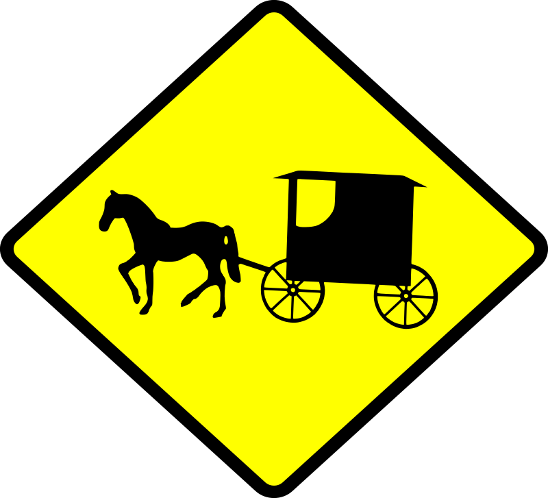 Cart clipart amish Caution IMAGE MEDIUM (PNG) Amish