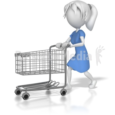 Cart clipart animated Stick ID# Cart Presentation 8020